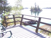 Cottage #4 Deck