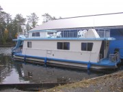 Houseboat Side View