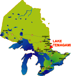 Canusa Vacations Map